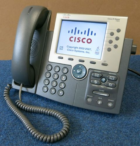 Cisco CP-7965G 7965 Unified VoIP IP Desk Business Telephone 68-3310-04
